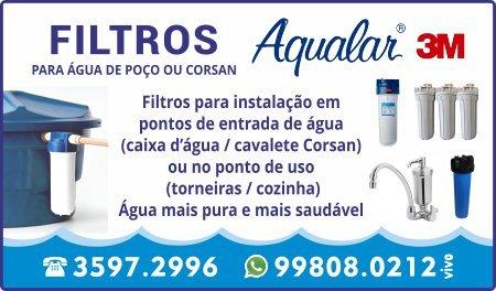 Filtros Aqualar 3M