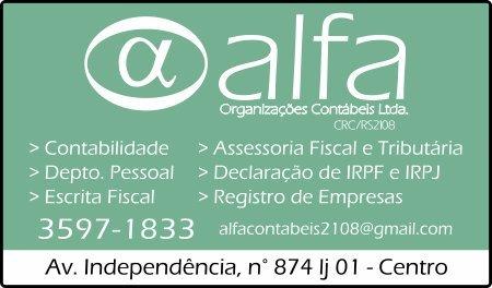Alfa Organizações Contáveis Ltda.