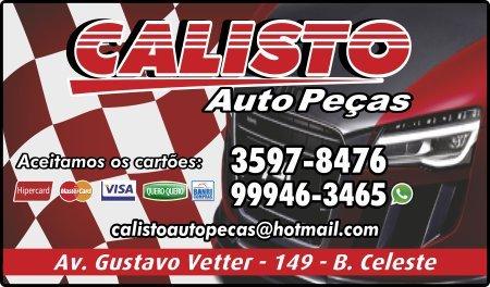Calisto Auto Peças - Guia CB