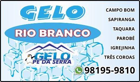Distribuidor de Gelo Rio Branco