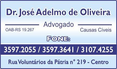 Dr José Adelmo de Oliveira