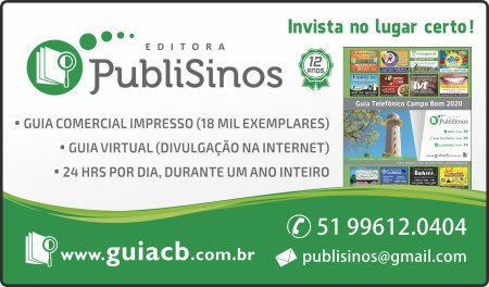 Guia Telefônico Editora PubliSinos
