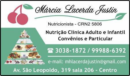 Márcia Lacerda Justin Nutricionista
