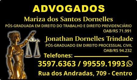 Mariza Dornelles - Jonathan Dornelles - Guia CB