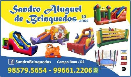 Sandro Aluguel de Brinquedos