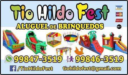 Tio Hildo Fest Aluguel de Brinquedos