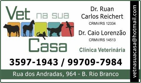 Vet na sua Casa Dr. Ruan Carlos Reichert